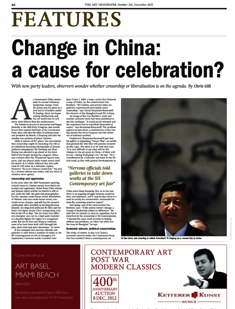 The Art Newspaper No.241 - december 2012 (p.46-47) - copie