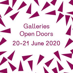 Galleries Open Doors | 20-21 June