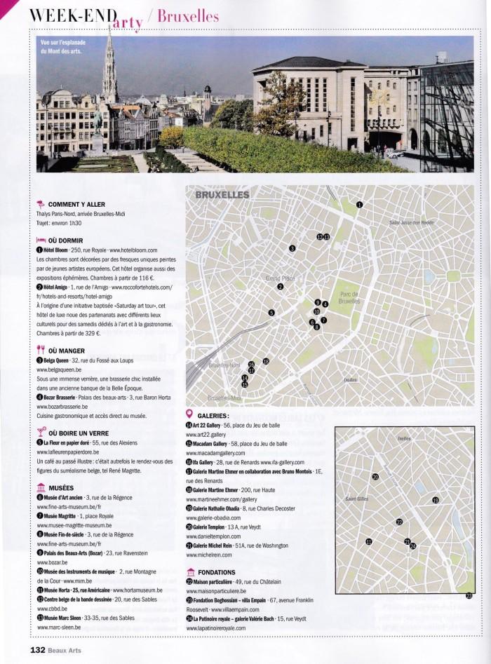 Weekend arty à Bruxelles – BAM april 2015