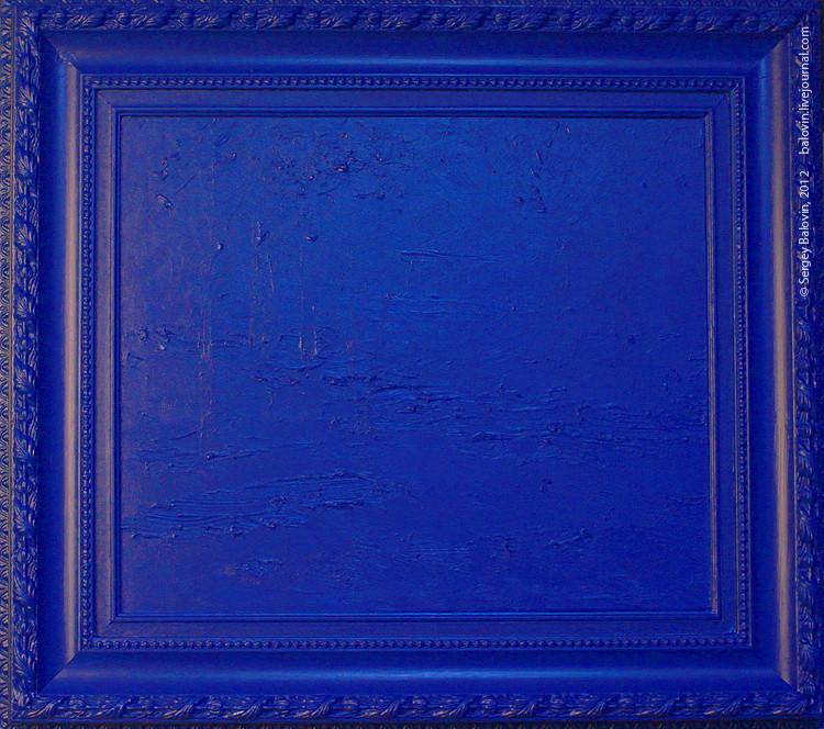 Euthanasia – Dedicated to Yves Klein