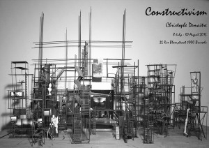 "Christophe Demaître open-studio ""Constructivism"" (until 30 August)"