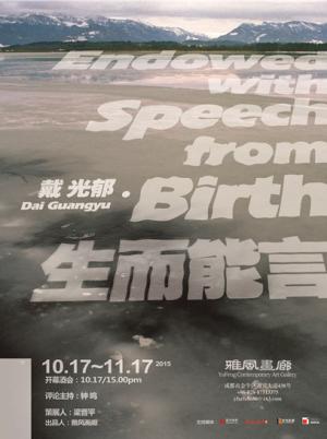 Dai Guangyu solo exhibition in Chengdu (Sichuan)