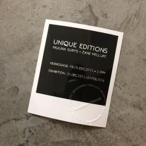 Unique Editions
