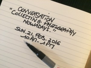 Conversation — Collecting Photography Nowadays