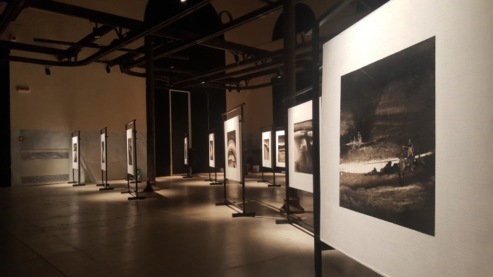 Li Chevalier @ MACRO paintings